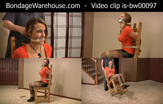 bondage video videos gagged girl-next-door photos